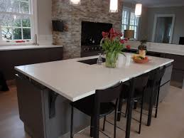 white concrete kitchen island kitchen ideas pinterest