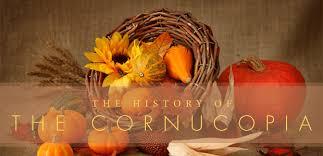 make a cornucopia centerpiece the focal point of your thanksgiving