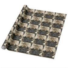 pug wrapping paper pug puppy wrapping paper zazzle co uk