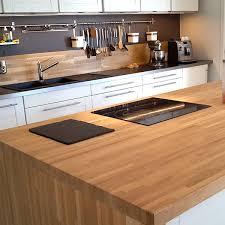 une cuisine pour tous plan de travail chene massif pour tous vos projets bois cuisine
