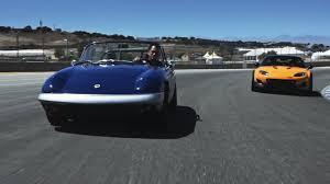 mazda car and driver 1967 lotus elan and mazda mx 5 super 20 concept car and driver