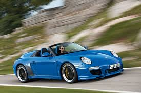 porsche maritime blue the 997 speedster is a rare porsche 911 we want desperately