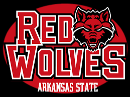 Arkansas travel logos images The mascot for arkansas state university is the red wolf jpg