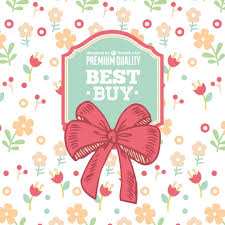 ribbon sale floral ribbon sale vector vector free vector in ai