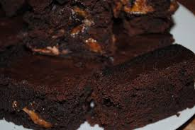 intense chocolate mars bar brownies beesteas