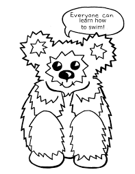 100 coloring pages with animals adventure swim animal