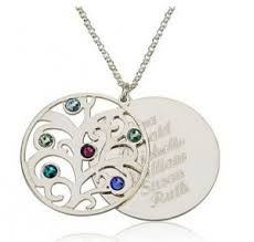 grandmother birthstone necklace the best healing jewelry for grandmother crystals their meanings