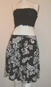 hawaiian pattern skirt hawaiian skirt