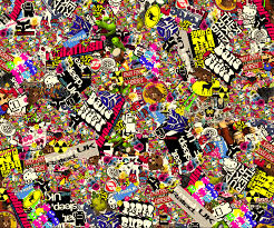 Photo Collection Vw Sticker Bomb Wallpaper