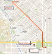 Denver Rtd Map Super Celebration Denver To Honor Broncos With Parade And Rally