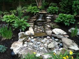 pondless water feature asian landscape new york by parker
