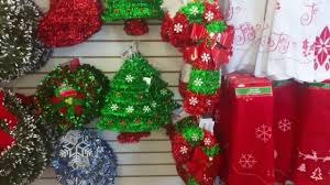dollar tree shop with me new christmas items youtube