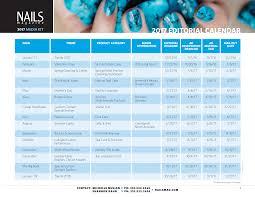 editorial calendar u0026 rates nails magazine online media kit