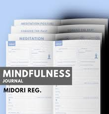 printable mindfulness quotes mindfulness journal midori insert printable meditation
