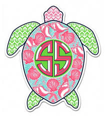 preppy decals simply southern preppy stickers turtle decal turtle stickers