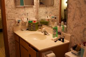 bathroom counter decorating ideas