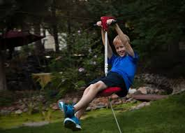 Zip Line For Backyard by Backyard Zip Line 11 Low Cost Buys To Boost A Boring Backyard