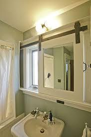 Sliding Bathroom Mirror Mirror Design Ideas Awesome Creation Sliding Bathroom Mirror