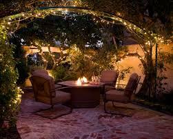 Patio Garden Lights Enhance Your Garden With Lighting The Garden