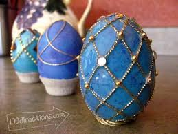 faux eggs for decorating faux faberge egg tutorial egg tutorials and easter