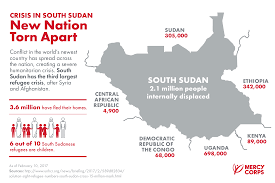 Ethiopia World Map by Quick Facts What You Need To Know About The South Sudan Crisis