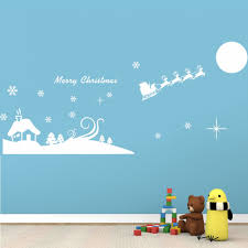 online get cheap snow scenery wall aliexpress com alibaba group xmas51 merry christmas white snow scenery house removable wall decals waterproofing pvc wall sticker new