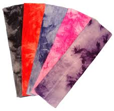 stretchy headbands stretch headbands tie dye hot pink