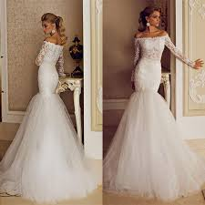 lace mermaid wedding dresses white lace mermaid wedding dress naf dresses