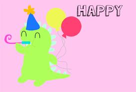 happy birthday cute dinosaur free for kids ecards greeting cards