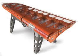 Aviation Inspired Desks Made Of Salvaged Airplane Parts Design Milk