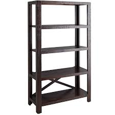 parsons tobacco brown tall shelf pier 1 imports