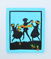 Corner Wall Art by Make Silhouette Wall Art With Oly Fun Fabric Morena U0027s Corner