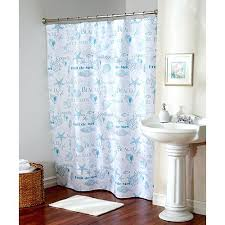 Curtain With Hooks Seaside Shower Curtains Seaside Fabric Shower Curtain With Hooks