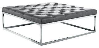 gray leather ottoman coffee table gray ottoman coffee table lovely gray leather ottoman square ottoman