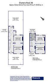 floor plan area calculator 3 bedroom property for sale in charteris road london n4 935 000