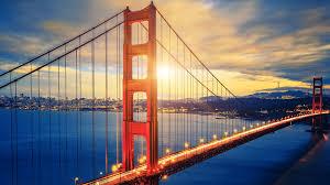 wallpaper golden gate bridge sunset hd world 2492