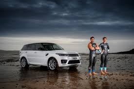 land rover sport 2017 strongman swimming race the new range rover sport ross edgley