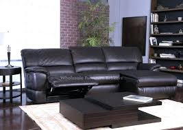 black leather sectional recliner u2013 mthandbags com