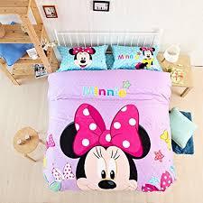 Mickey Duvet Cover Casa Children 100 Cotton Mickey Series Minnie Duvet Cover