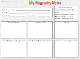 free biography graphic organizer 4th grade best photos of student autobiography graphic organizer biography