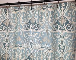 108 Inch Long Shower Curtain 108 Shower Curtain Etsy