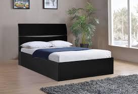 Ottoman Bed Black Arden Black High Gloss Ottoman Bed Frame