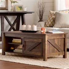 Rustic Coffee And End Tables Rustic Log Coffee Table Wayfair