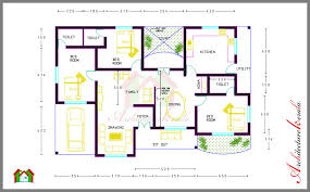 three bedroom house plan in kerala house interior