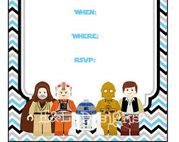 star wars birthday party invitations template cimvitation