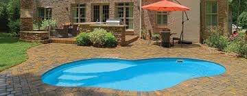 new great lakes in ground fiberglass pool by san juan clear choice pools in delanson san juan pools clear choice