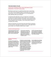 simple business plan templates boblab us