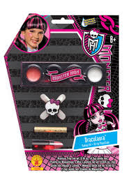 Monster High Halloween Costumes For Girls Draculaura Girls Makeup Kit Monster High Accessory