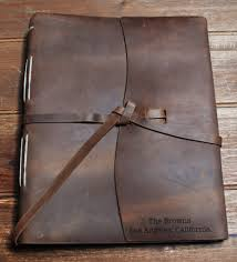 Leather Photo Albums Engraved Family Photo Album Premium Leather Engraved Memories Made Custom