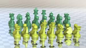 Chess Set Milosaurus Staunton Style Chess Set 3d Printable Model